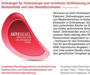 Sicher-Shoppen.info - Referenzen und Presse